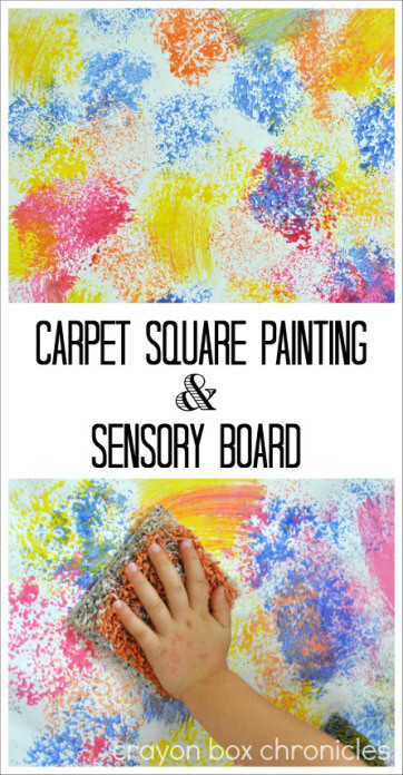 Carpet Sensory Painting