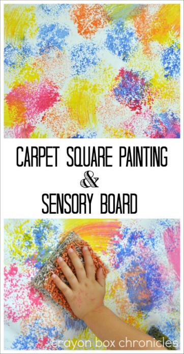Carpet Sensory Painting