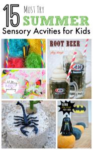Must Try Summer Sensory Activities