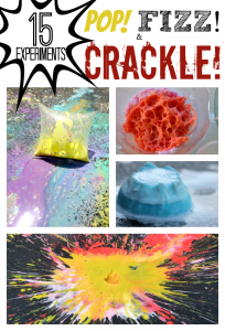 15 Science Experiments that Pop Fizz and Crackle