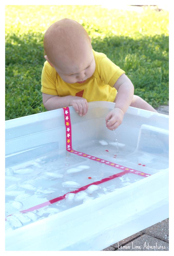 Baby Icy Sensory Bin