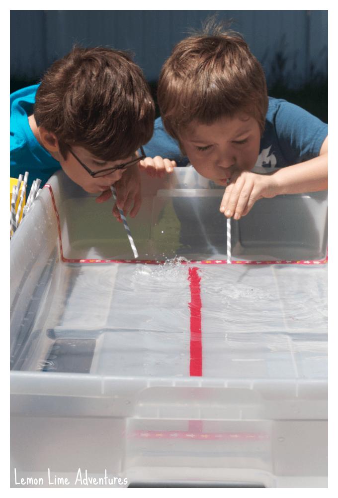 Hands Free Ice Races Summer Fun