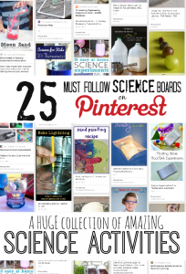 25 Must Follow Pinterest Boards for Science Activities