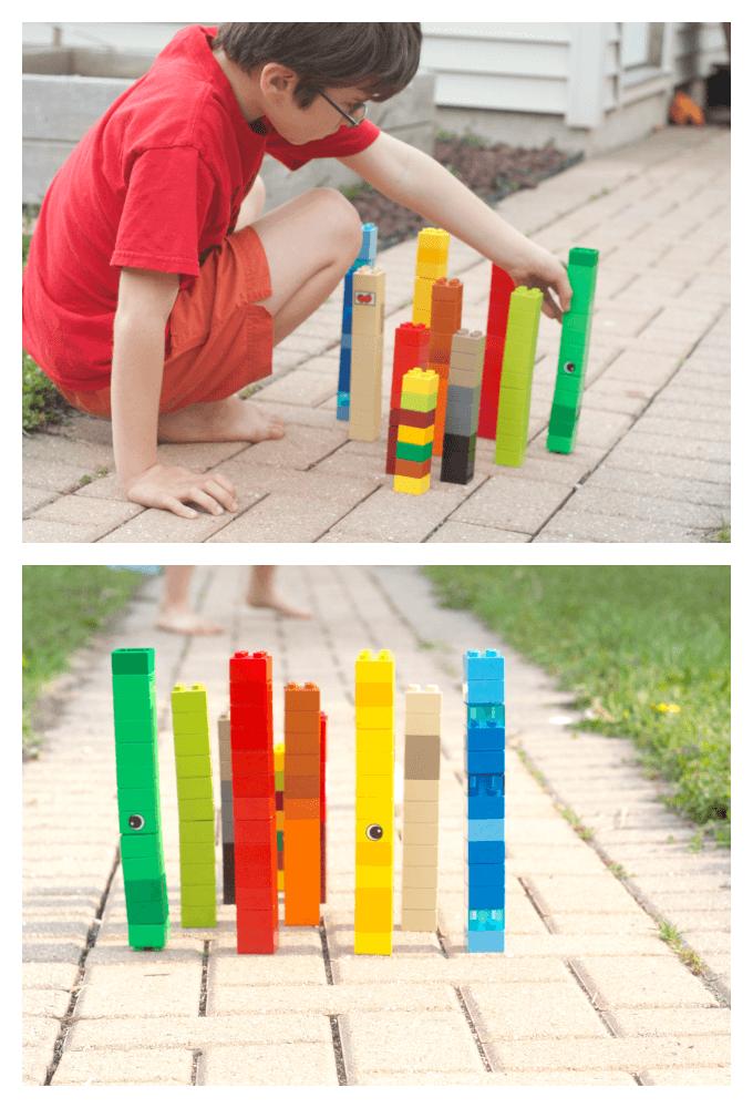 Lego Ice Bowling Pins