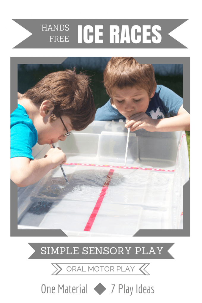 ORAL MOTOR PLAY   Hands Free Ice Races