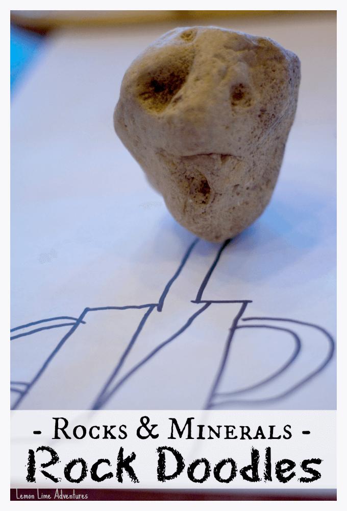 Rocks and Minerals Rock Doodles