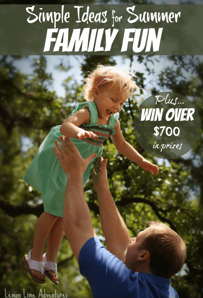 Simple Ideas for Summer Family Fun Giveaway