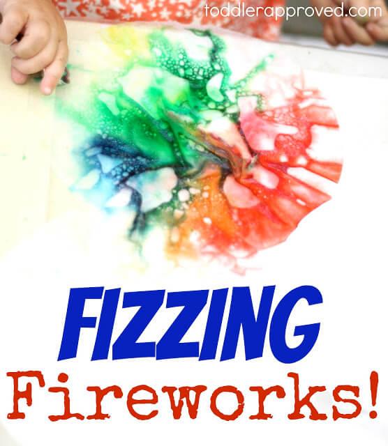 fizzing fireworks