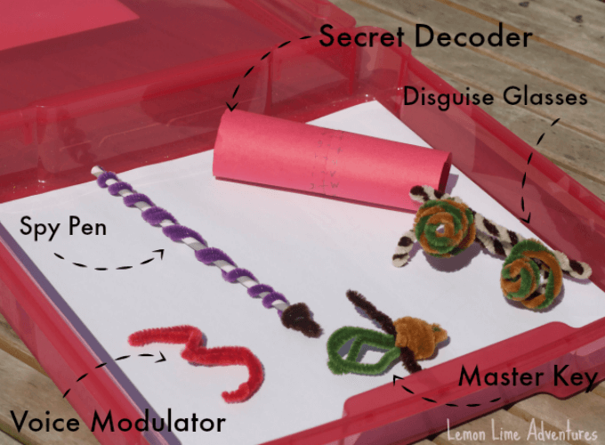 DIY Spy Kit