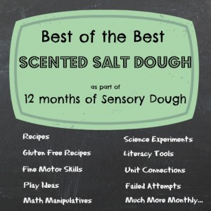 December Scented Salt Dough