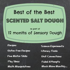 December Scented Salt Dough