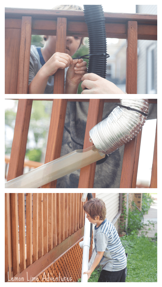 Giant Recycled Outdoor Marble Run
