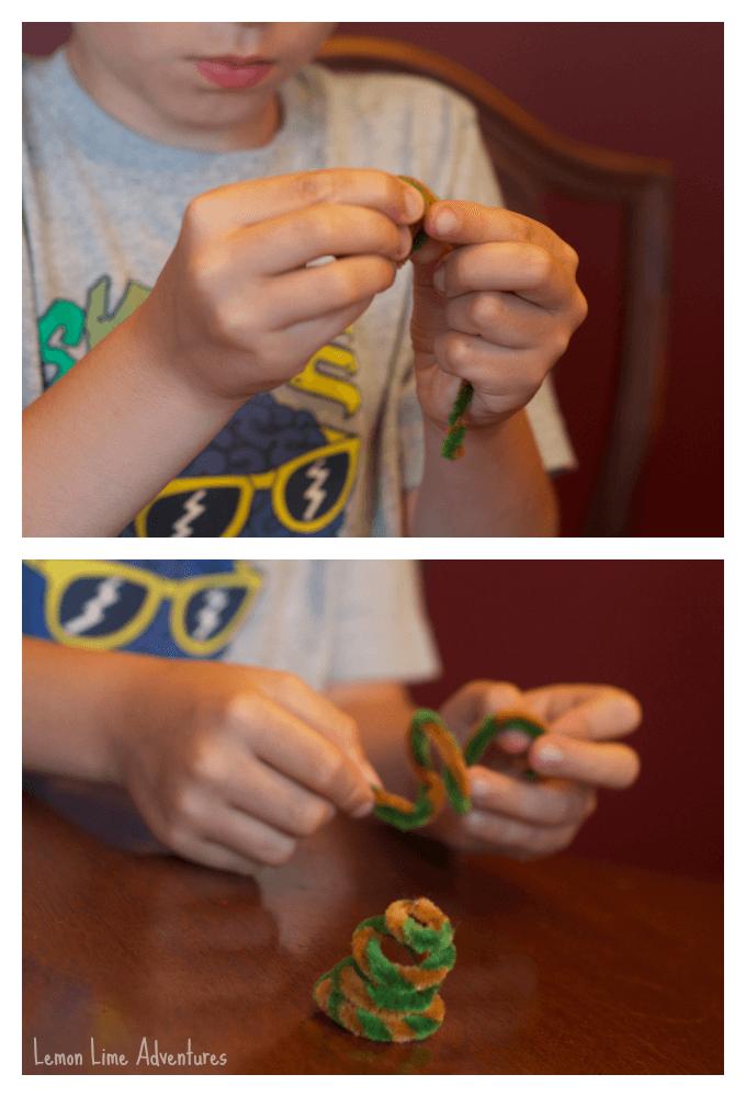 Making DIY Spy KIT for Kids