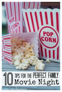 10 Tips for the Perfect Family Movie Night