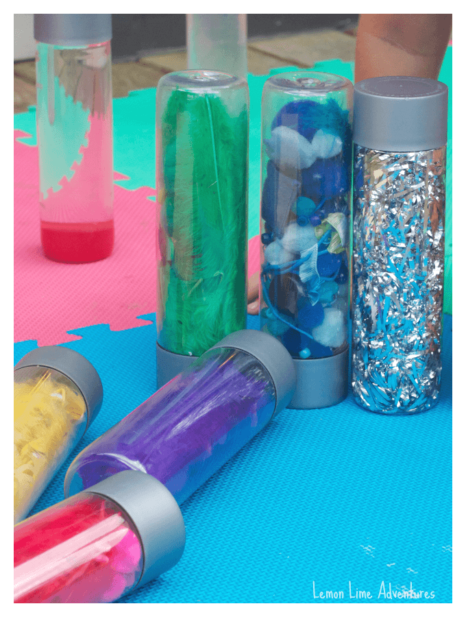 Sensory Bottle Collection Materials List