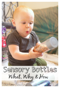 Sensory Bottles | The What, Why & How