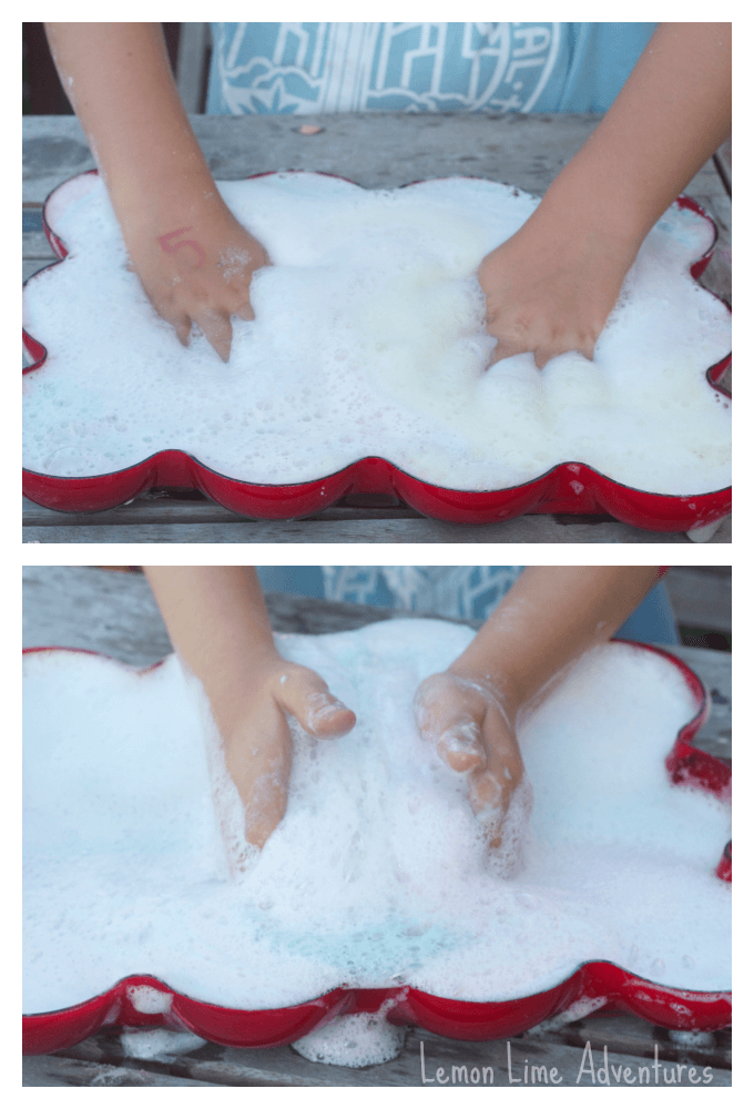Sensory Foaming Fizzing Dough