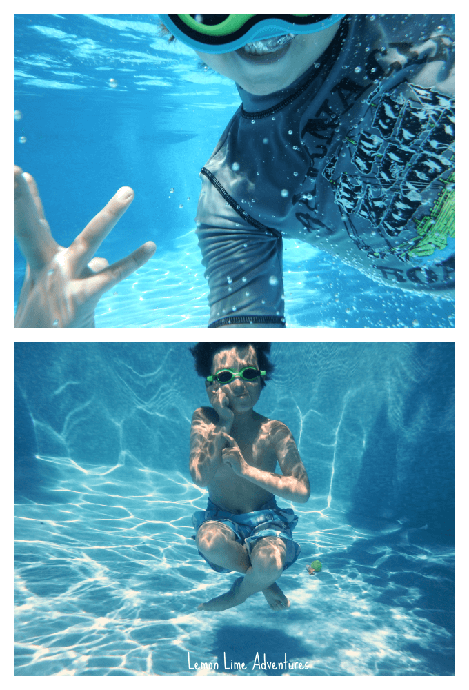 Underwater Pictures Pool Play