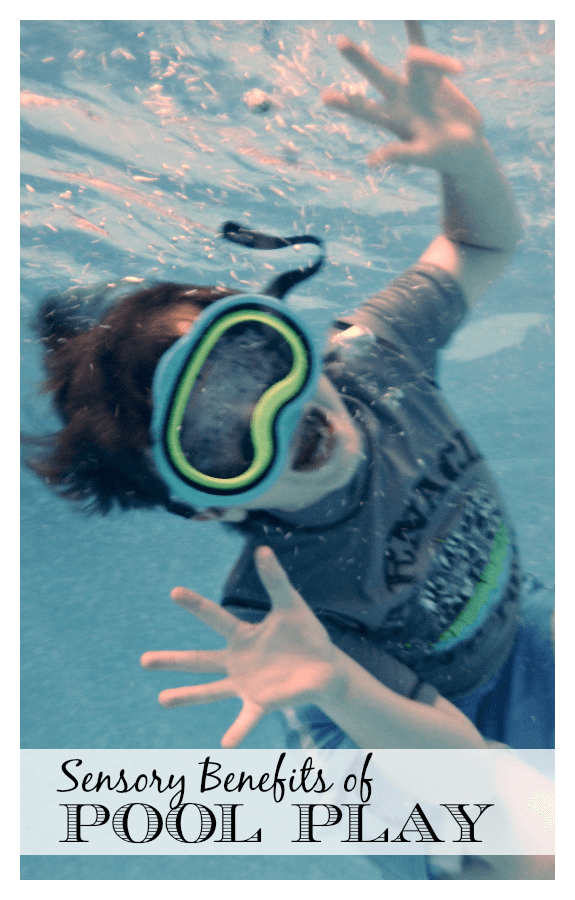 sensory Pool play