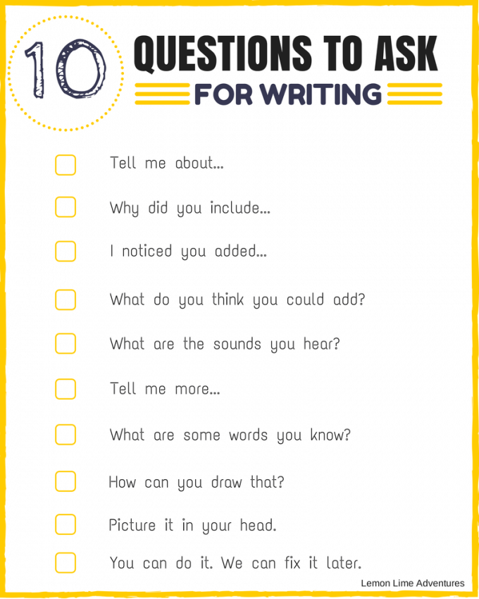 10 Questions About WRITING