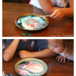 Magic Milk Experiment for preschool