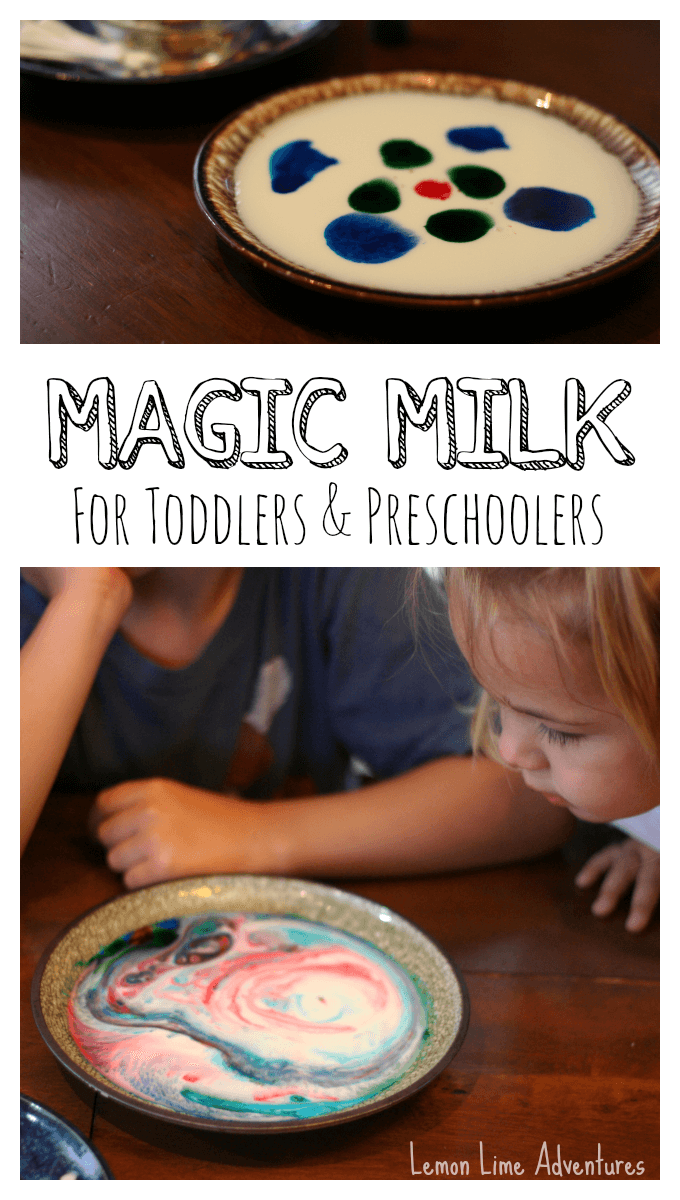 easy preschool science activities magic milk for toddlers and preschoolers with palmolive 348