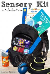 Sensory Kit for School or Home