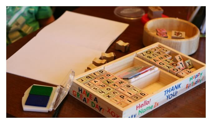 Stamps for Sight Word Learning