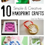 10 Simple Handprint Crafts