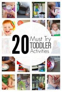 20 Must Try Toddler Activities for Tot-Schooling