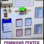 Command Center for Simple Home Organization