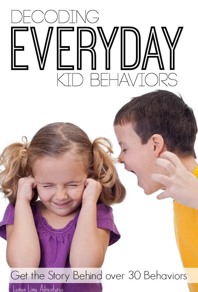 Decoding Everyday Kid Behaviors