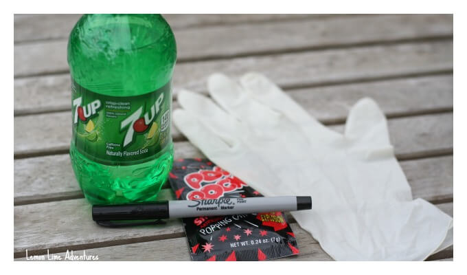 Halloween Pop Rocks and Soda Experiment