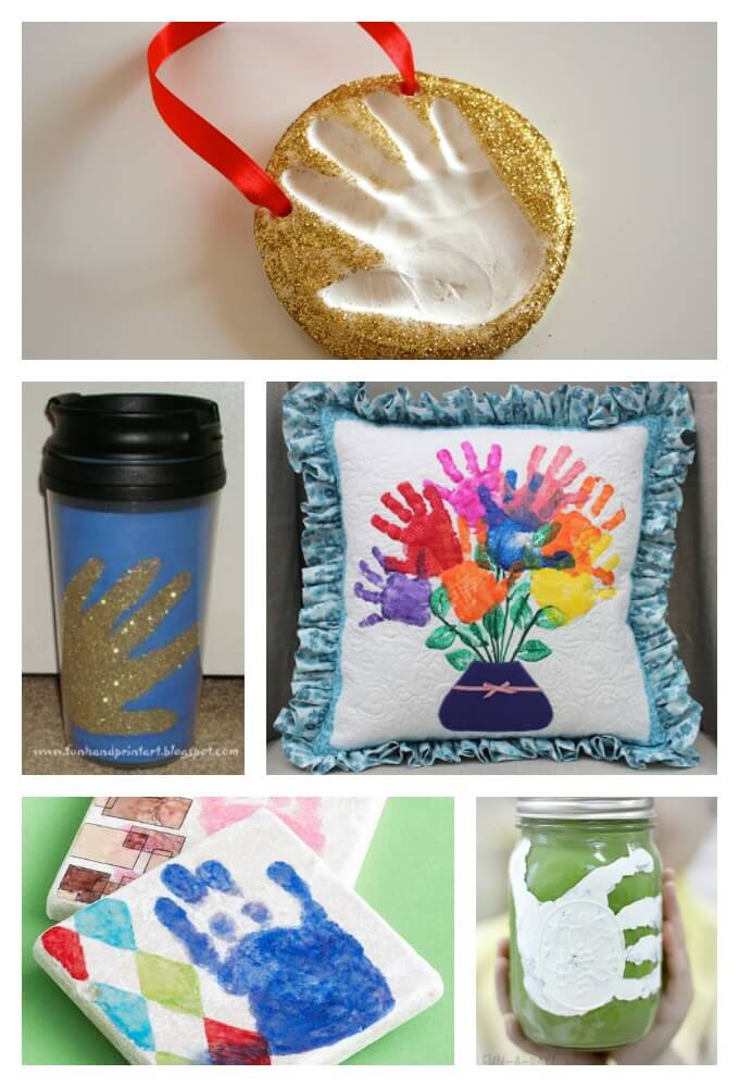 Handprint Gifts For the Home