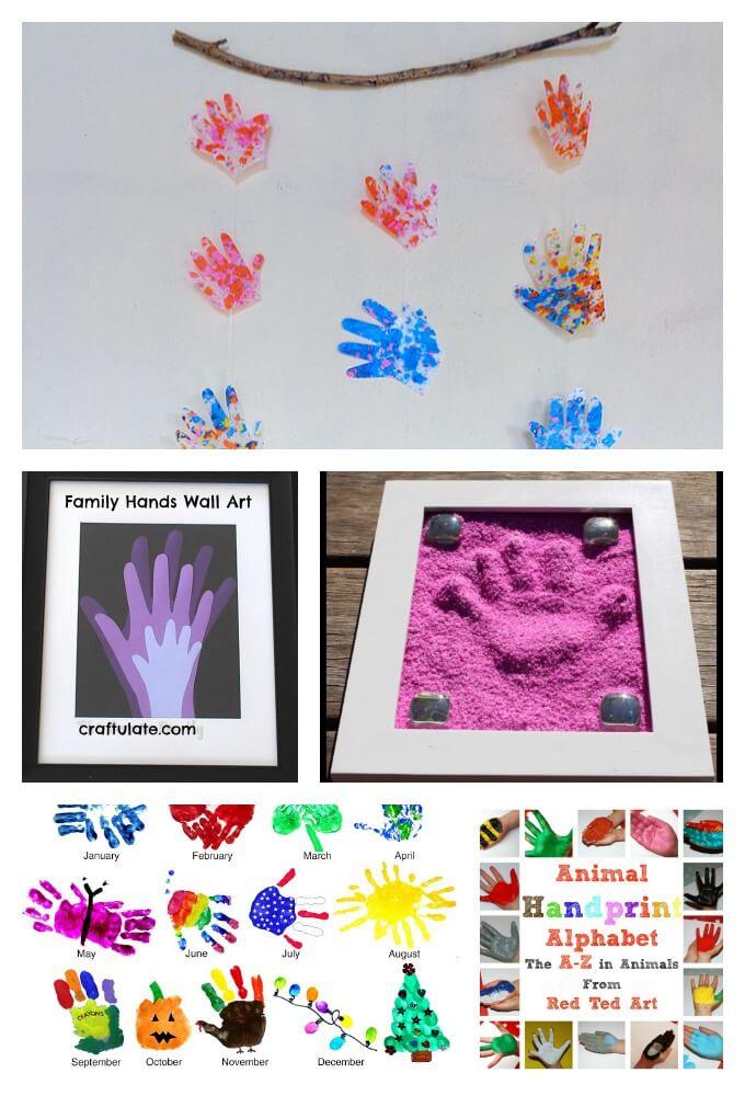 Hanging Handprint Art