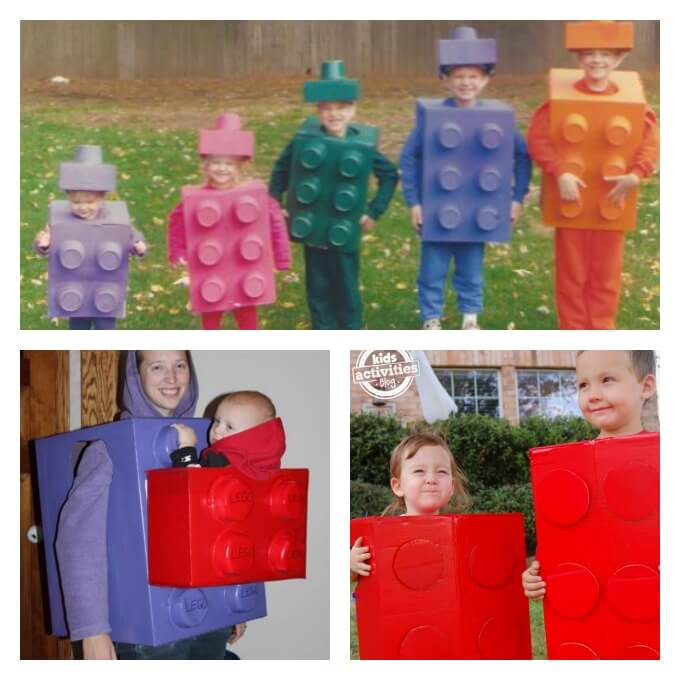 Lego Brick Costumes  sc 1 st  Lemon Lime Adventures & Amazing DIY Lego Costumes