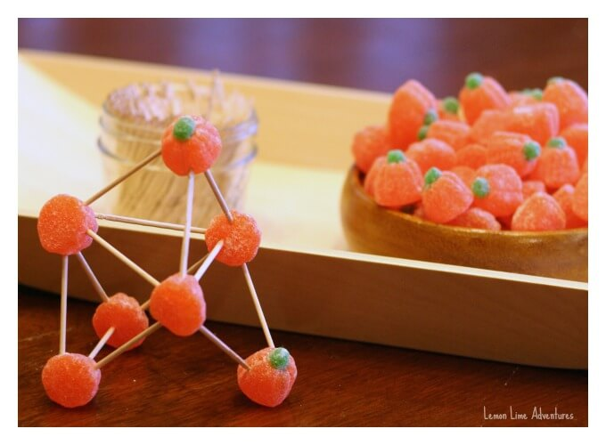 STEM building with candy