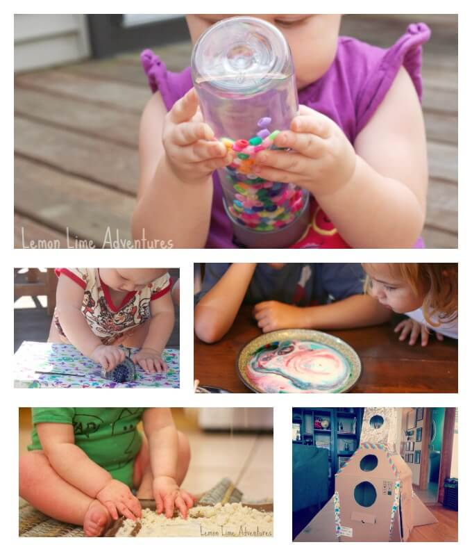 Simple Toddler Play Ideas