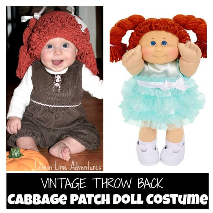 Vintage Cabbage Patch Doll Costume