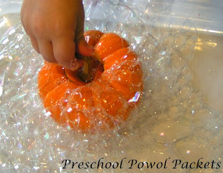 bubble science pumpkins