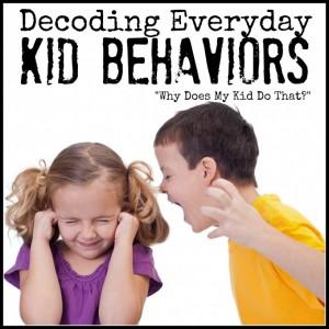 Decoding Everyday Kid Behaviors