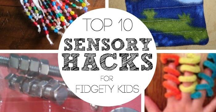 Fidgety Hacks for Sensory Kids Facebook