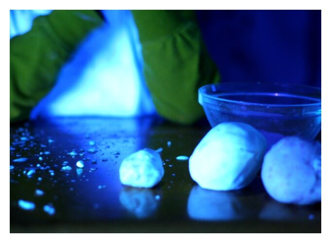 Glowing Playdough