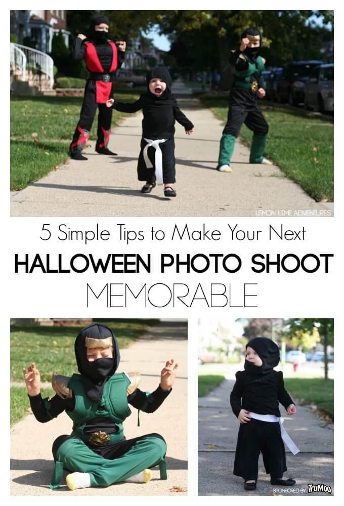 Memorable Halloween Family Photo Shoot