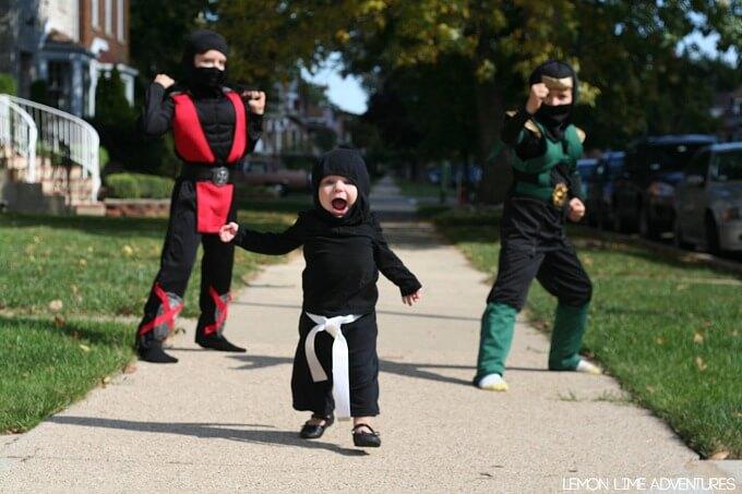 Ninja Family Costumes