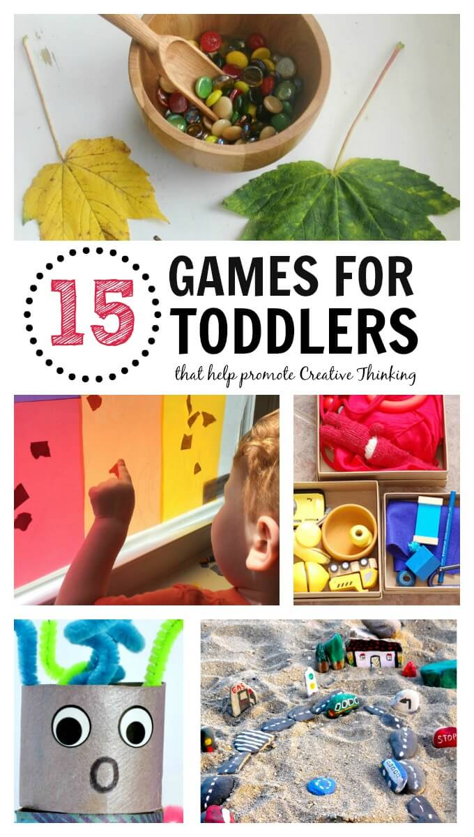Games for Toddlers that Promote Creative Thinking
