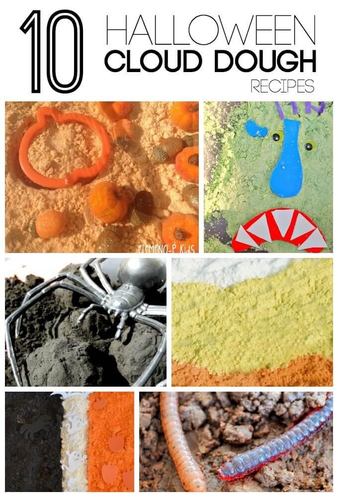 top 10 Halloween Cloud Dough