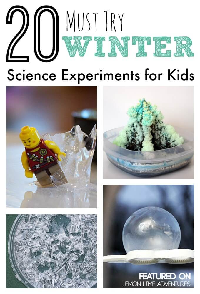 20 Must Try Winter Science Experiments for Kids