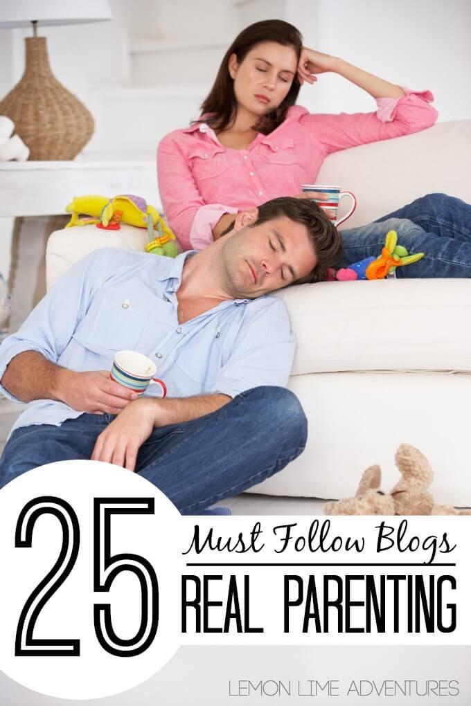 25 Must Follow Parenting Blogs