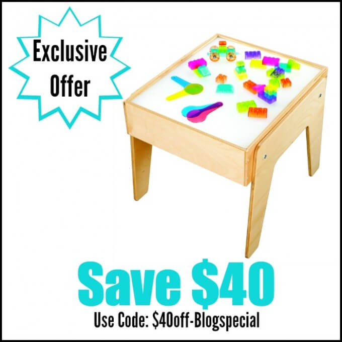 Childcraft light table review